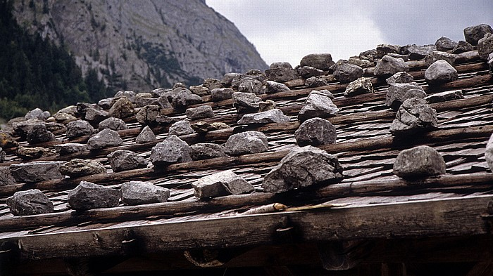 Eng Bauernhof: Dach