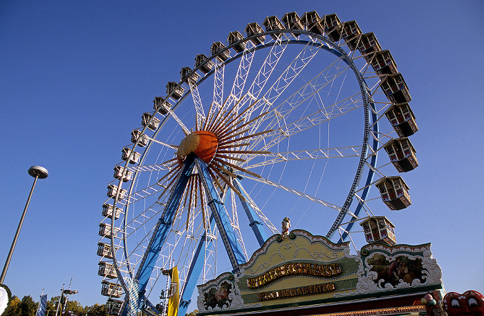 München Theresienwiese: Oktoberfest: Riesenrad