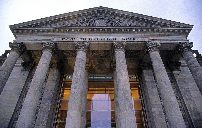 Reichstagsgebäude Berlin 2008