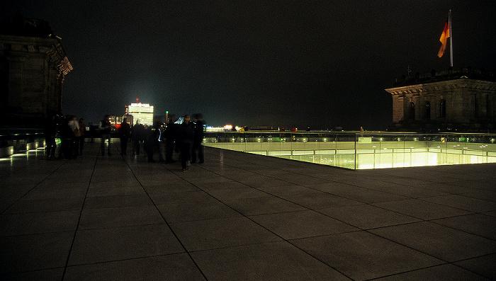 Berlin Dach des Reichstagsgebäudes