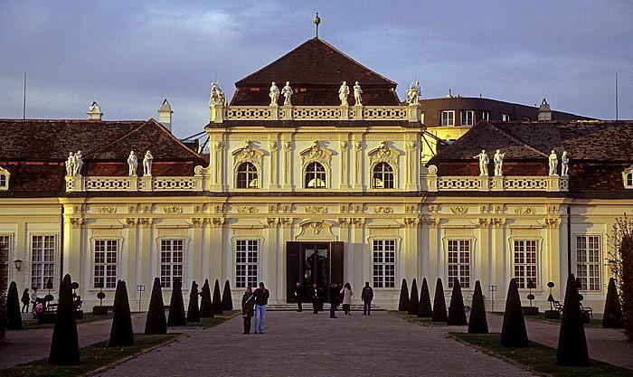 Schlossanlage Belvedere: Unteres Belvedere Wien