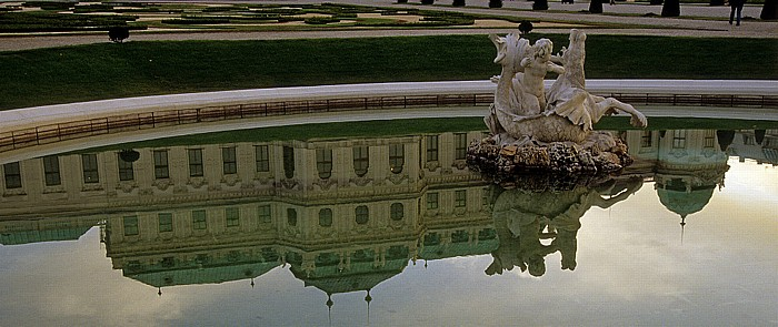 Schlossanlage Belvedere: Gartenanlage Wien