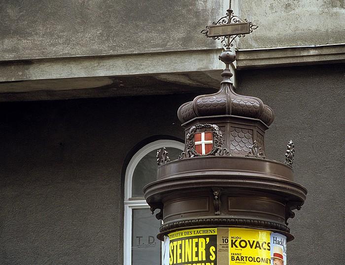 Litfaßsäule Wien