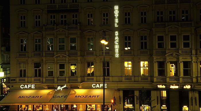 Cafe Mozart, Hotel Sacher Wien