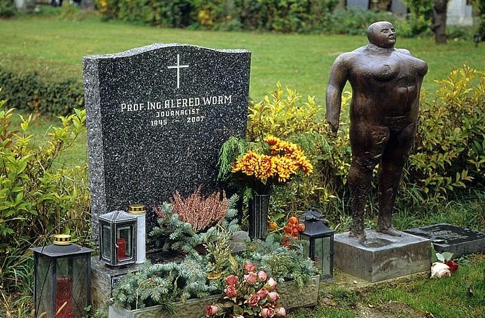 Wiener Zentralfriedhof: Gruppe 40 (Ehrenhain): Grab von Alfred Worm Wien