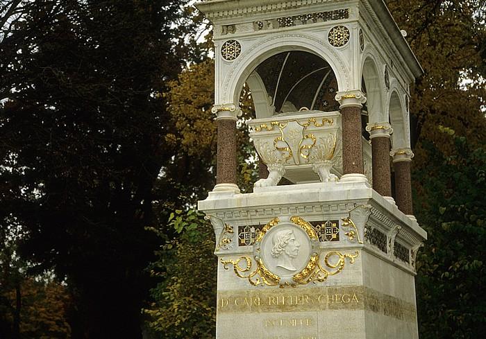 Wiener Zentralfriedhof: Ehrengrab von Carl Ritter von Ghega Wien