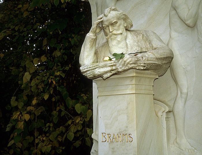 Wiener Zentralfriedhof: Ehrengrab von Johannes Brahms Wien