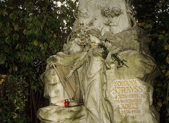Wiener Zentralfriedhof: Ehrengrab von Johann Strauss Wien