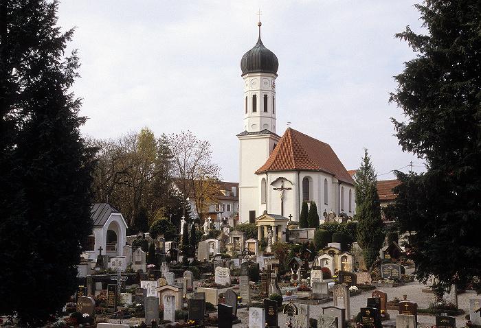 Pöcking Pfarrkirche St. Ulrich, Alter Friedhof