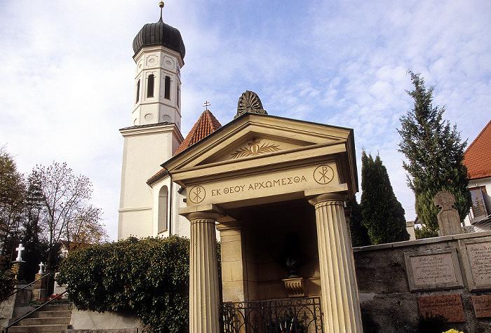 Pöcking Alter Friedhof, Pfarrkirche St. Ulrich