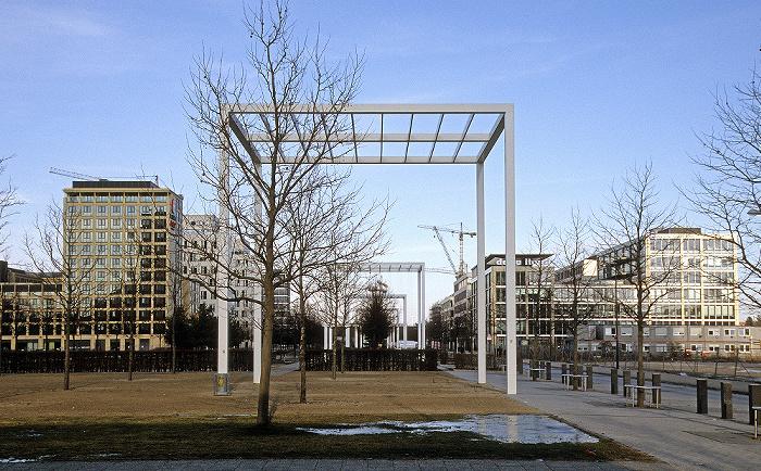 München Parkstadt Schwabing: Zentraler Park