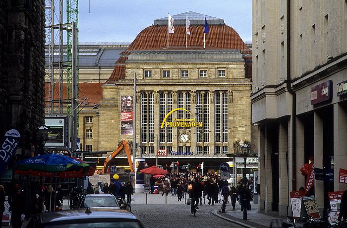 Leipzig Nikolaistraße, Hauptbahnhof