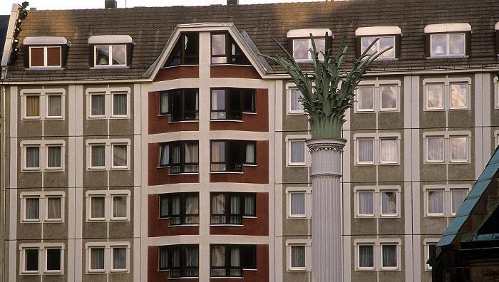 Leipzig Nikolaikirchhof: Palmenkapitellsäule