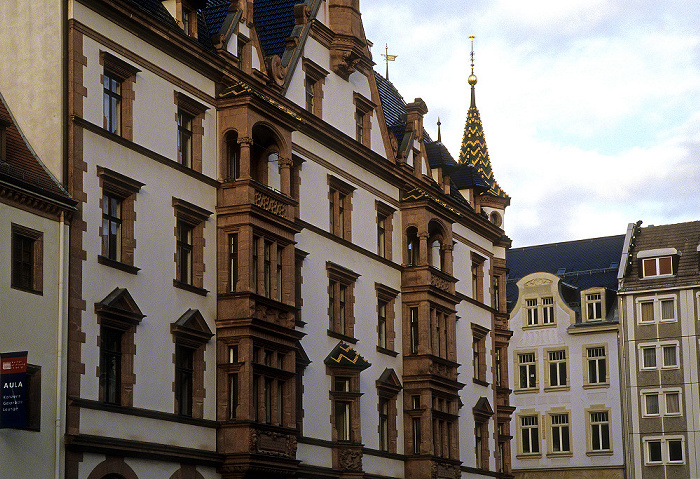 Leipzig Nikolaikirchhof: Predigerhaus