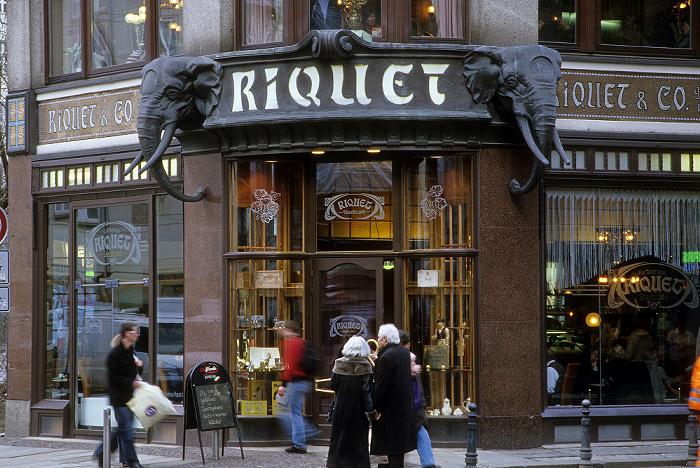 Leipzig Reichsstraße/Schuhmachergässchen: Riquethaus (Café Riquet)