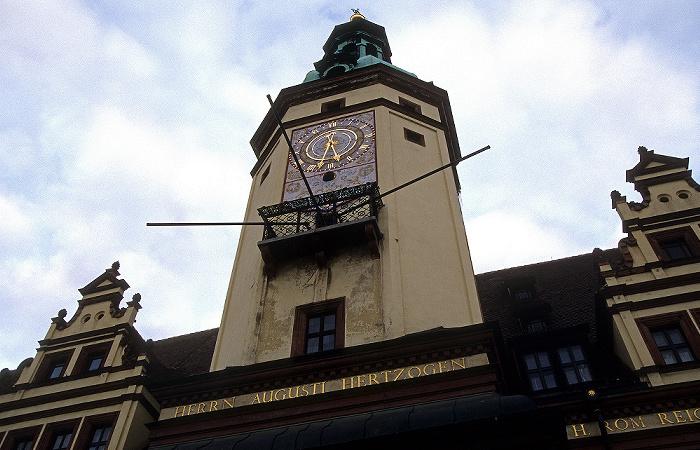 Leipzig Altes Rathaus: Uhrturm