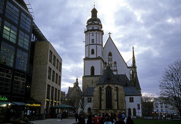 Leipzig Thomaskirchhof, Thomaskirche