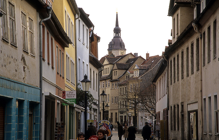 Naumburg Altstadt: Steinweg Stadtkirche St. Wenzel