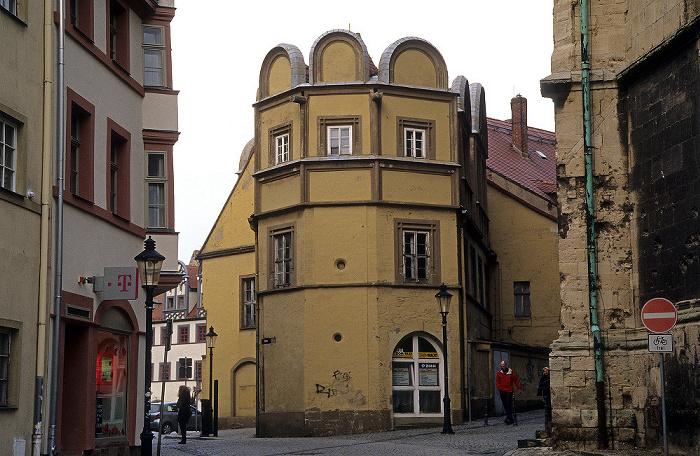 Naumburg Altstadt: Schlösschen Stadtkirche St. Wenzel