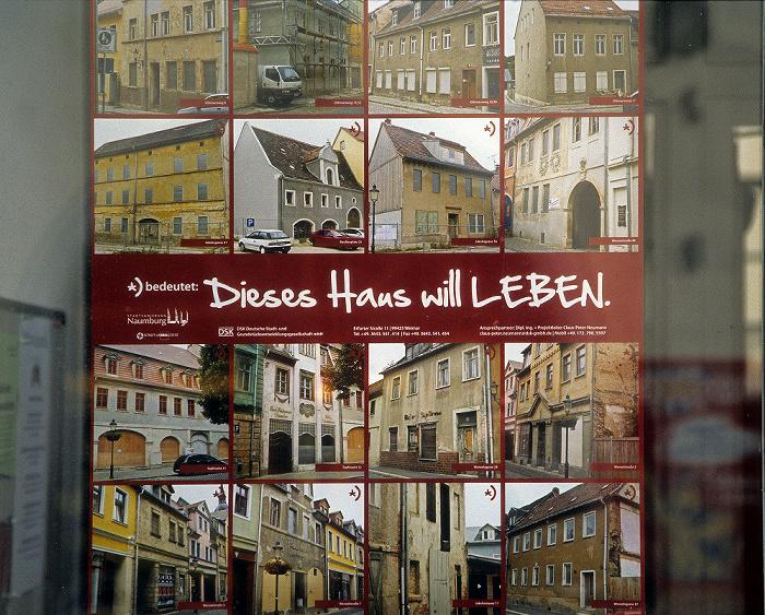Naumburg Altstadt: Stadtsanierungsmaßnahme Dieses Haus will Leben