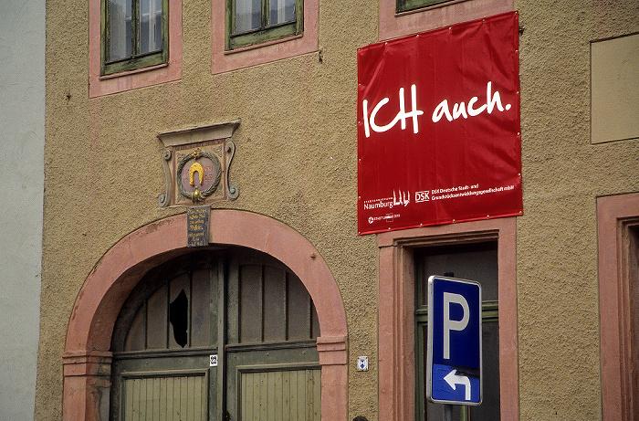 Naumburg Altstadt: Haus der Stadtsanierungsmaßnahme Dieses Haus will Leben