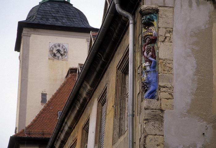 Naumburg Altstadt: Marienstraße Marien-Magdalenen-Kirche