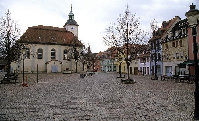 Naumburg Altstadt: Marienplatz, Marien-Magdalenen-Kirche