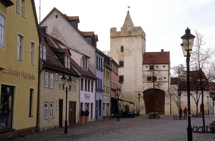 Naumburg Altstadt: Marienplatz, Marientor