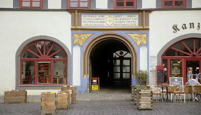 Naumburg Marktplatz: Bürger- und Handelshaus Markt 10