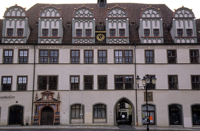 Naumburg Marktplatz: Rathaus