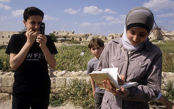 Aleppo Zitadelle: Syrische Kinder