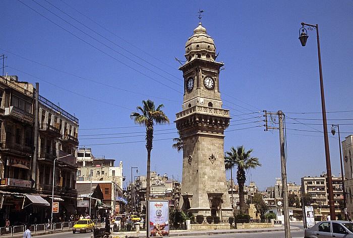 Aleppo Neustadt: Uhrturm