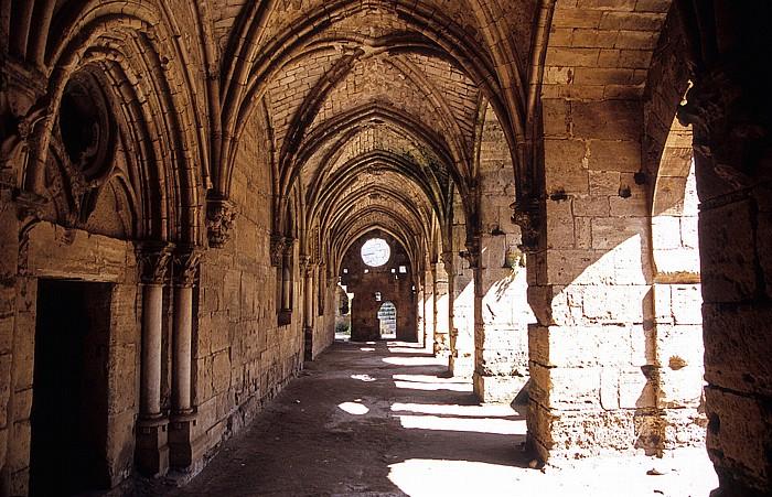 Tell Kalach Krak des Chevaliers: Vorhalle (Portikus, Säulen- oder Pfeilerhalle als Vorbau)
