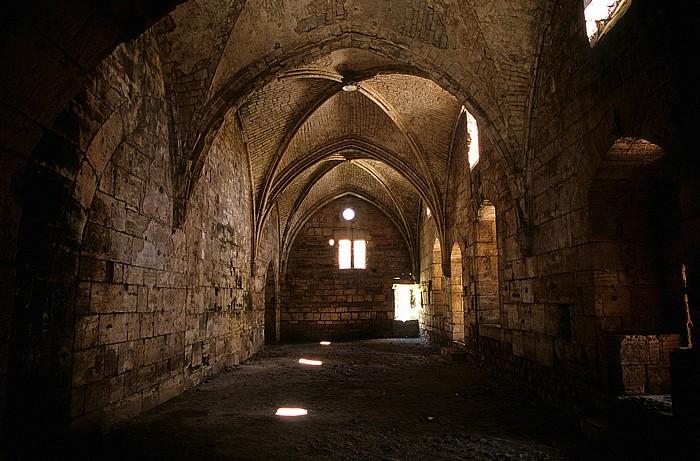 Tell Kalach Krak des Chevaliers: Rittersaal (Großer Saal)