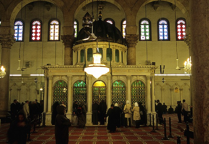 Damaskus Altstadt: Omayyaden-Moschee: Gebetssaal (haram, musalla)