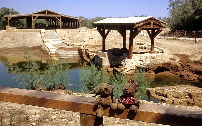 Jordan Betanien: Taufstelle Jesu: Teddy und Teddine