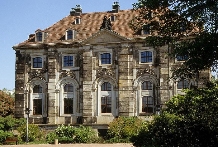 Dresden Neustädter Elbufer: Blockhaus (Neustädter Wache)
