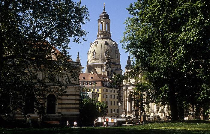 Dresden Innere Altstadt: Brühlscher Garten, Frauenkirche