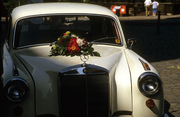 Dresden Innere Altstadt: Hochzeitsauto