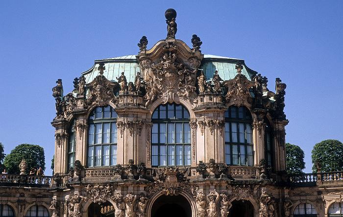 Dresden Innere Altstadt: Zwinger: Wallpavillon