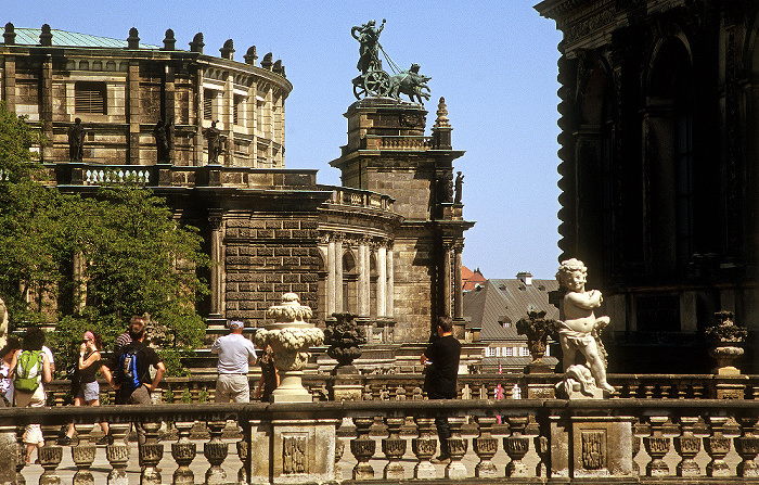 Dresden Innere Altstadt: Zwinger Semperoper
