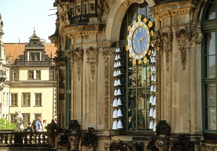 Dresden Innere Altstadt: Zwinger: Glockenspielpavillon