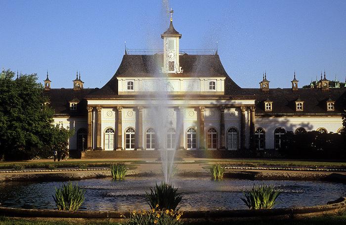 Dresden Schlosspark Pillnitz: Lustgarten, Neues Palais