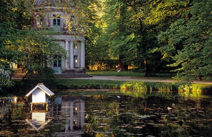 Dresden Schlosspark Pillnitz: Englischer Garten