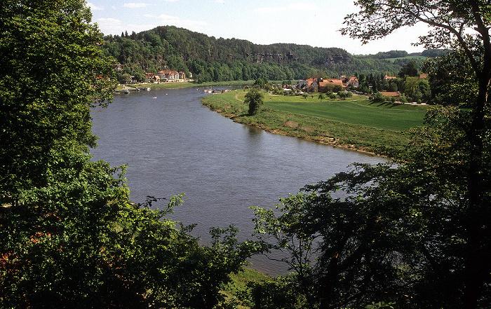 Sächsische Schweiz Elbsandsteingebirge, Elbe