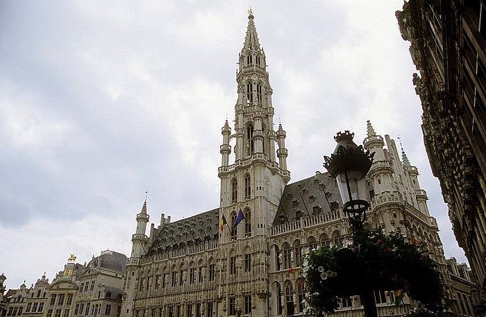 Brüssel Grand Place (Grote Markt): Rathaus Zunfthäuser