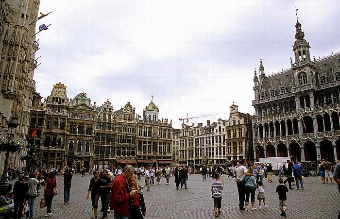 Brüssel Grand Place (Grote Markt): Zunfthäuser Maison du Roi