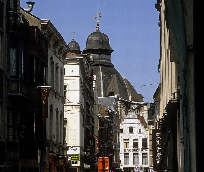 Brüssel Rue des Grands Carmes Onze-Lieve-Vrouw van Goede Bijstandkerk