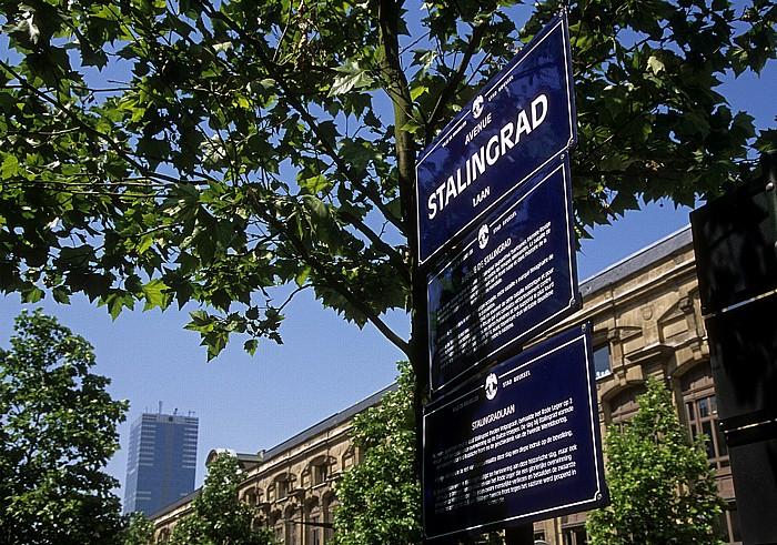 Brüssel Avenue de Stalingrad (Stalingradlaan)