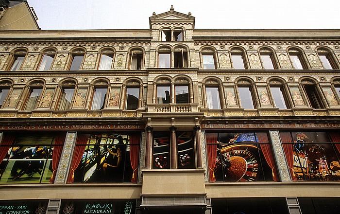 Brüssel Rue du Marché aux Poulets (Kiekenmarkt)